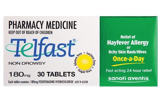 Lưu ý khi dùng thuốcTelfast