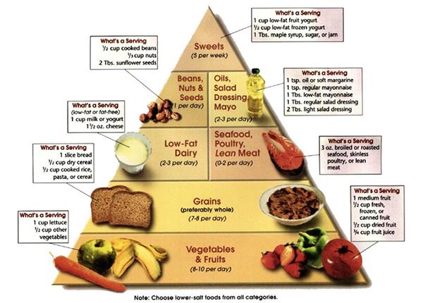 Chế độ ăn DASH giúp giảm ăn hữu hiệu