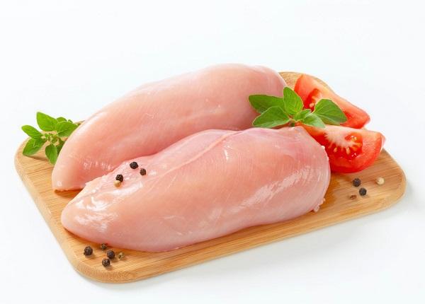 Ức gà thực phẩm giàu protein có hiệu quả tốt trong giảm cân