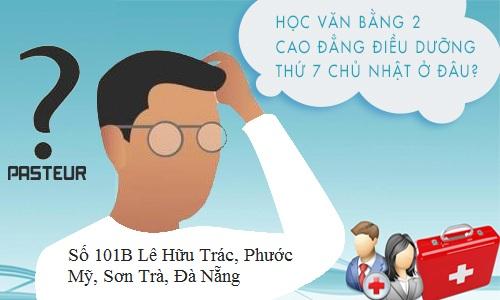 Địa chỉ học Văn bằng 2 Cao đẳng Điều dưỡng Đà Nẵng