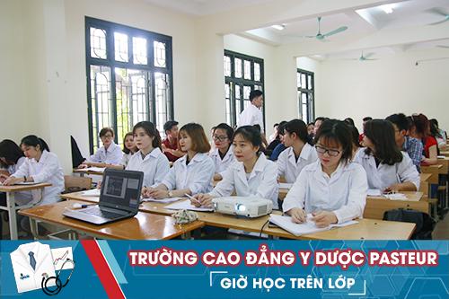 Trường Cao đẳng Y Dược Pasteur đào tạo Cao đẳng Dược, Điều dưỡng và Xét Nghiệm