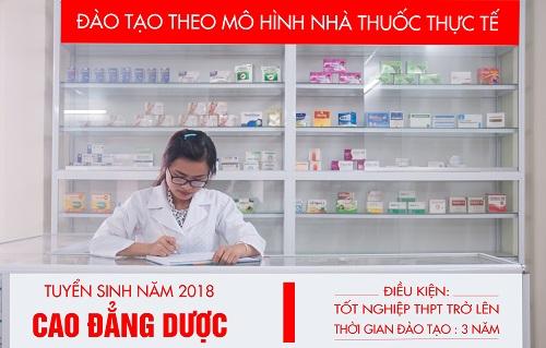 Tuyen-sinh-2018-cao-dang-duoc-dao-tao-theo-mo-hinh-nha-thuoc-thuc-te