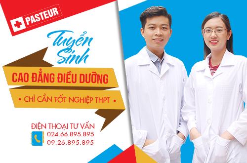 Tuyển sinh Cao đẳng Điều dưỡng chỉ cần tốt nghiệp THPT