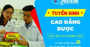 Tuyển sinh Cao đẳng Dược Hà Nội chỉ cần tốt nghiệp THPT