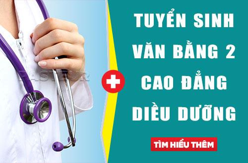 Điều kiện tuyển sinh Văn bằng 2 Cao đẳng Điều dưỡng Hà Nội