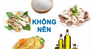 benh-viem-xoang-khong-nen-an-gi