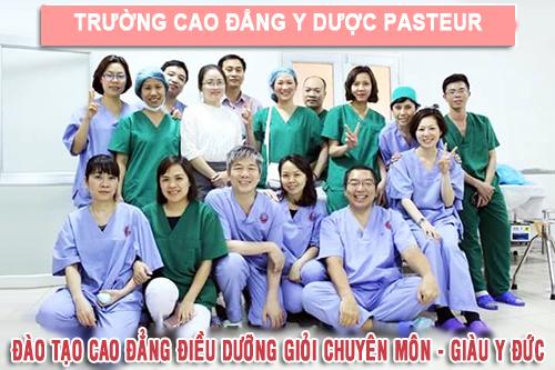 Trường Cao đẳng Y Dược Pasteur đào tạo Cao đẳng Điều dưỡng giỏi chuyên môn - giàu Y đức