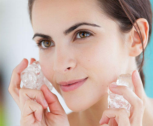 Chườm đá trong thời gian dài có thể làm bạn bỏng lạnh