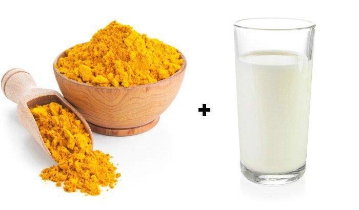 Kết hợp nghệ với sữa tươi sẽ trở thành hỗn hợp nuôi dưỡng và làm trắng da hiệu quả
