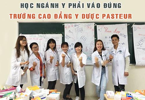 Học ngành Y phải vào đúng trường Cao đẳng Y Dược Pasteur