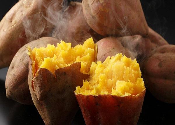 Khoai lang chứa nhiều chất xơ giúp đốt cháy mỡ bụng