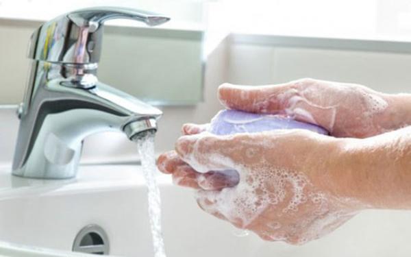 Rửa tay là cách tốt nhất để loại bỏ vi khuẩn, virus