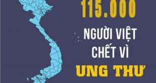 Nguyên nhân khiến tỷ lệ tử vong do bệnh ung thư tại Việt Nam ở mức cao