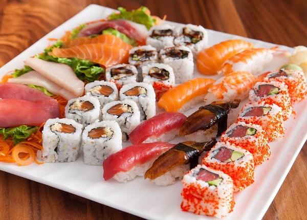 Sushi và sashimi của người Nhật không thể thiếu nguyên liệu cá biển
