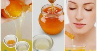 Mật ong và trứng gà được coi là thần dược cho da mặt