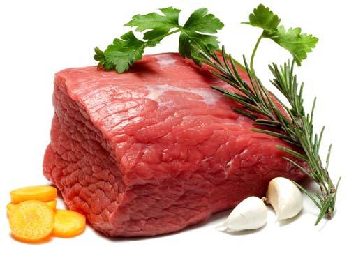 Bổ sung thịt đỏ giúp cung cấp đủ chất dinh dưỡng cần thiết