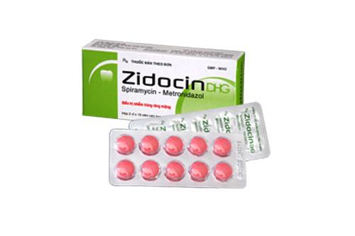 Thành phần chính của thuốc Zidocin