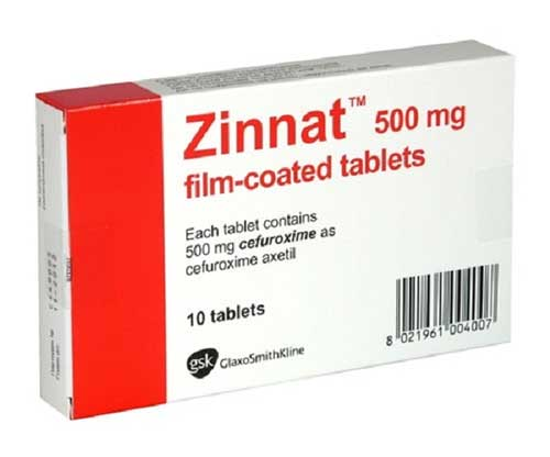 Thuốc Zinnat tablets 500mg có những tác dụng gì?