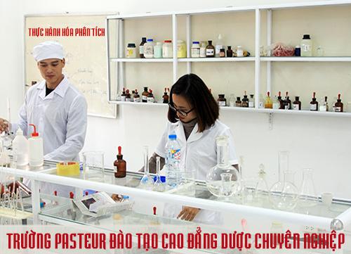Trường Pasteur đào tạo VB2 cao đẳng Dược chuyên nghiệp