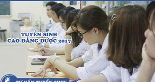 tuyen-sinh-cao-dang-duoc-nam-2017