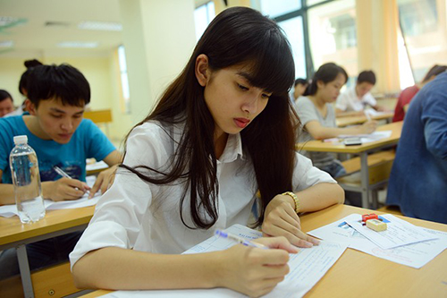 Cần kiểm tra đề thi và điền thông tin cá nhân